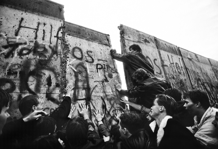 From the series Fall of the Berlin Wall, 1989 by Tom Stoddart