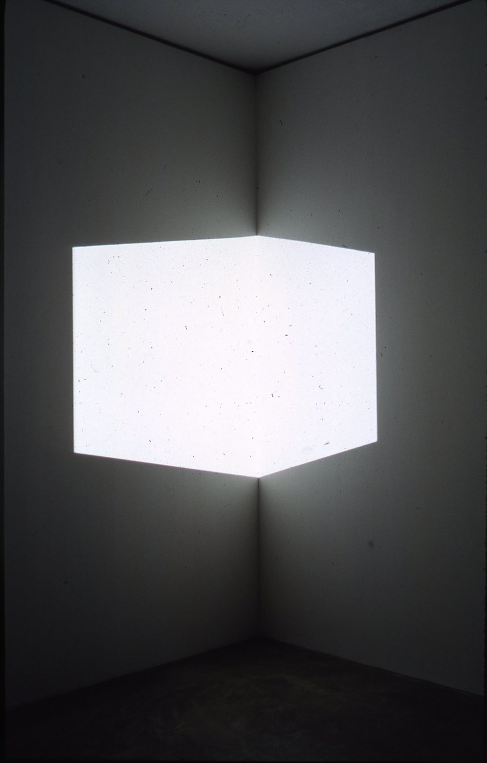Catso (White), 1967 by James Turrell.