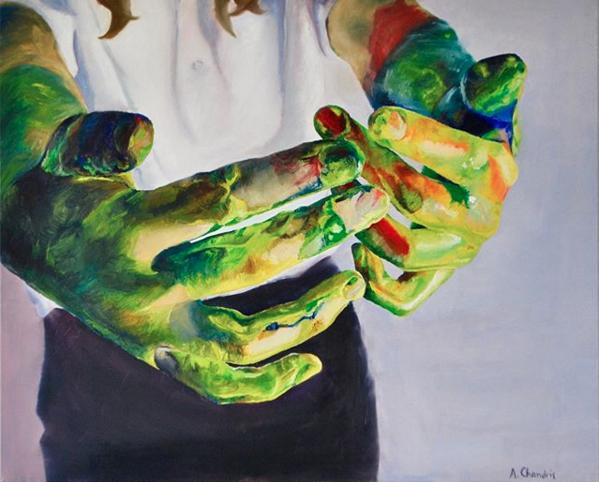 Come Here, 2012 by Arietta Chandris.