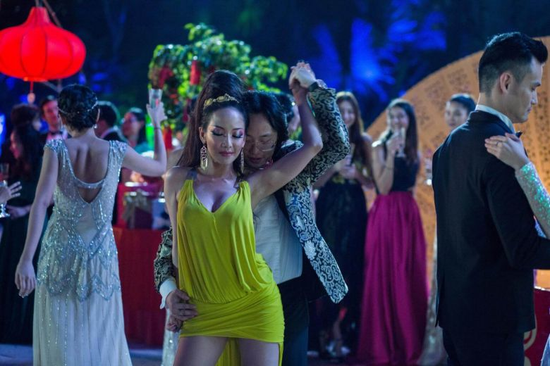 Fiona Xie as Kitty Pong in  Crazy Rich Asians .