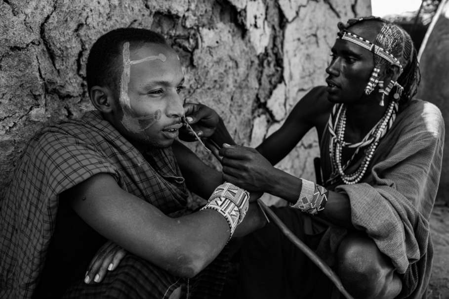 From the series  A Centuries Old Maasai Custom: Female Genital Mutilation:  Makuta, Kenya.