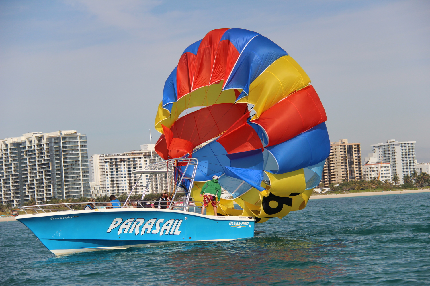 Image result for south beach parasail