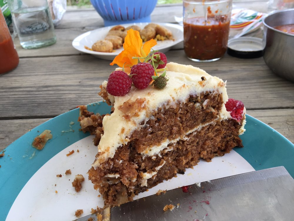 Carrot cake can easily substitute shredded rutabaga for carrots