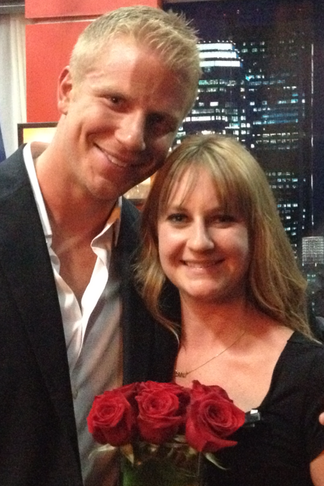 Sean Lowe and I at AFR when they announced him as THE Bachelor, 2011