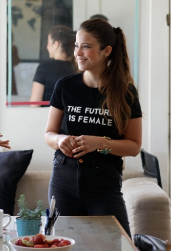 """I wanted to create a safe place to give every woman a voice to tell her story, speak her truth and ask questions with no judgment but lots of support. I want women to empower each other and uplift one another."" ~ Ana"