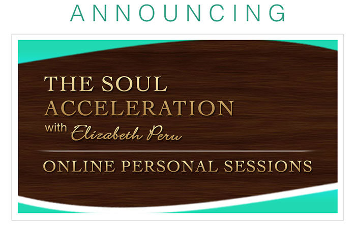 elizabeth peru's soul acceleration personal sessions