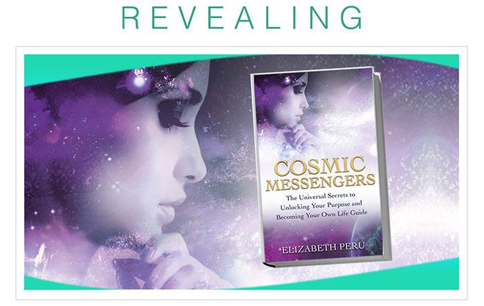 best-selling book cosmic messengers elizabeth peru