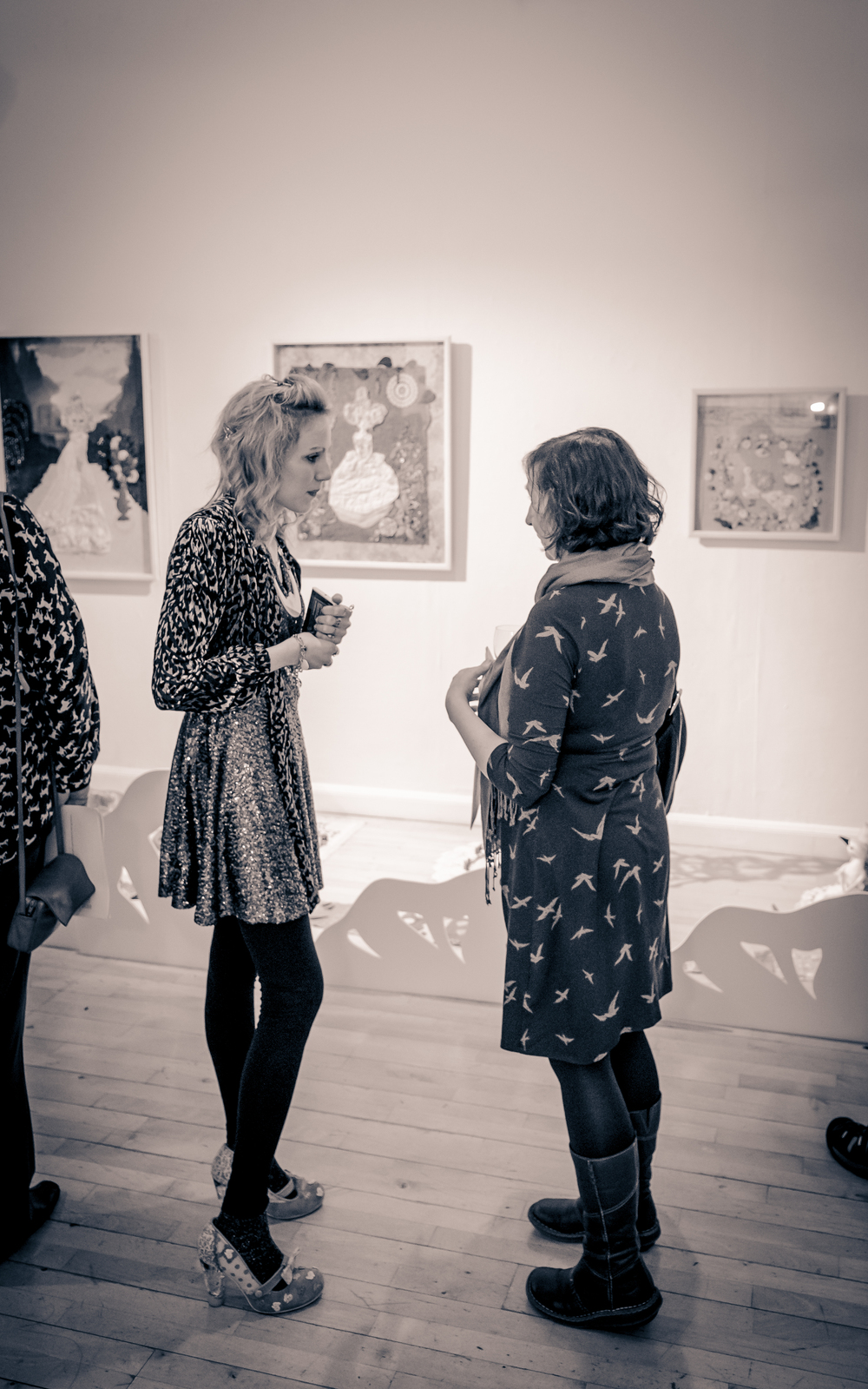 'In Dreams' Exhibition opening night - 2013