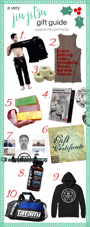 Top 10 Holiday 2016 Jiu Jitsu Gift Ideas