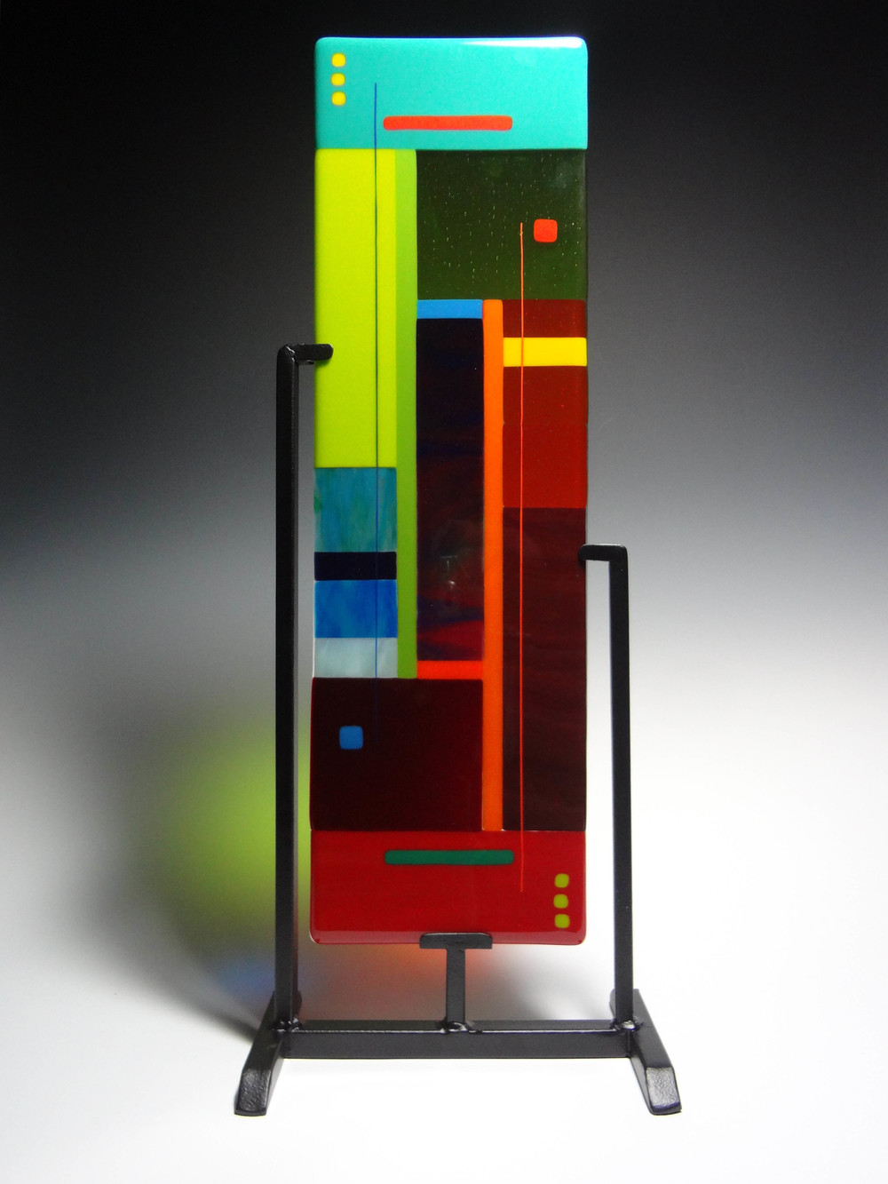 "Inner Passage<a href=>→</a><strong>24"" x 7.5"" $650 (includes stand)</strong>"