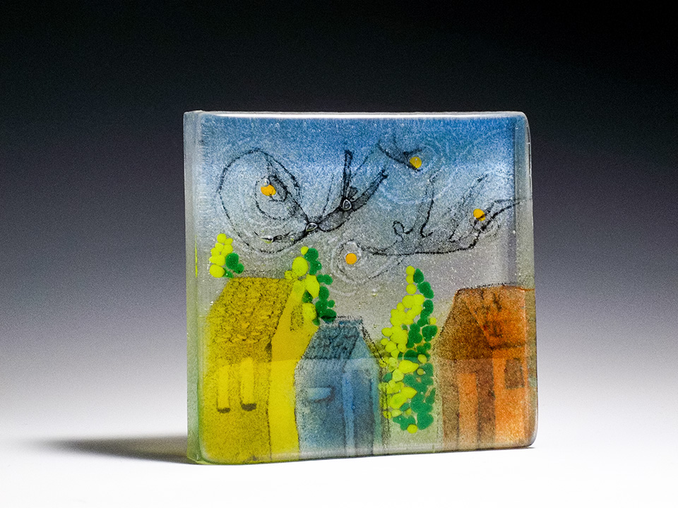 "Watching Over<a href=>→</a><strong>6.5"" x 6.5"" Not For Sale</strong>"