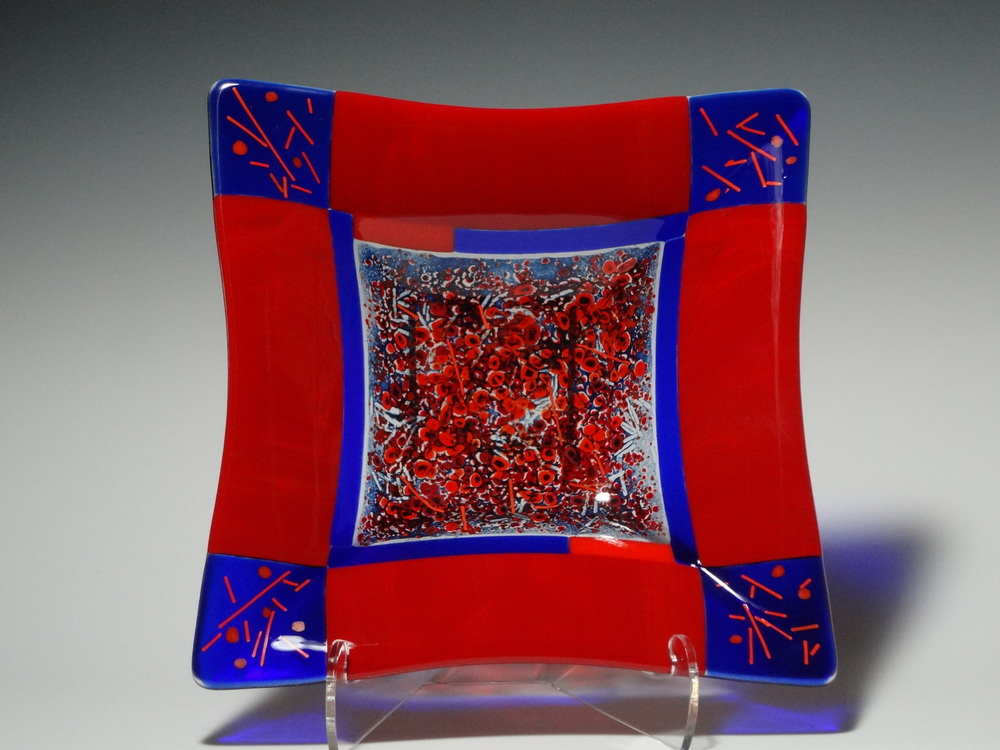 "Scatter<a href=>→</a><strong>12"" x 12"" Bowl $250</strong>"