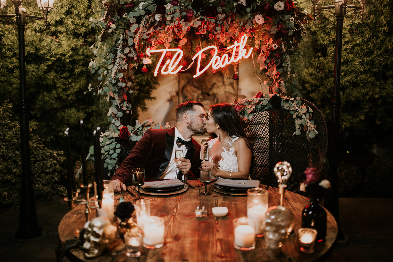 Garrett + Rachel | Franciscan Gardens Wedding - San Juan Capistrano ...