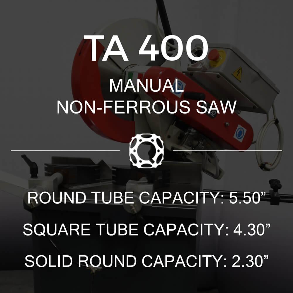 http://www.circularcoldsawblades.com/cold-saws/ta-400-manual-aluminum-cutting-saw