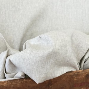 "Handky Linen, Natural:  a classic sheer, woven with a fine thread so that it can support applique or Roman shade structure. Should not be lined, 55"" wide, $24.00 per yard."