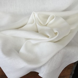 "Peasant Linen, Oyster: medium weight & excellent for all designs. Oyster is very slightly off-white. 55"" wide, $22.00 per yard."