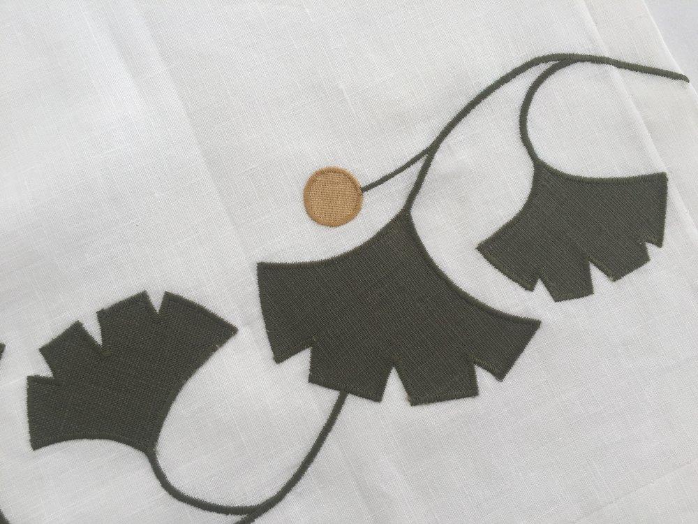 Arts crafts applique embroideries u melton workroom