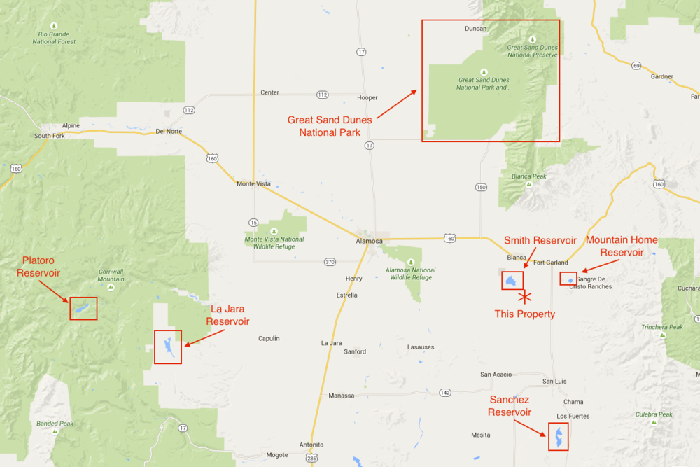 Great For Four Wheeling Nearly 5 Acres In Costilla County Colorado