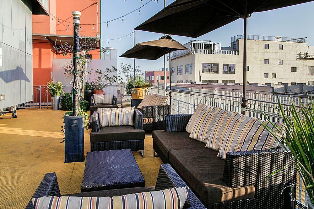 Rooftop Conversation Area