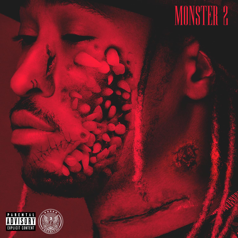 Future quotmonster 2quot conceptual mixtape cover artwork for Mixtape cd cover