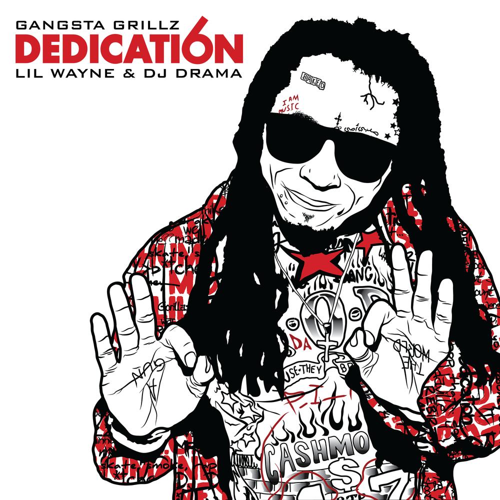 Young Money Lil Wayne Dedication 6 Artwork
