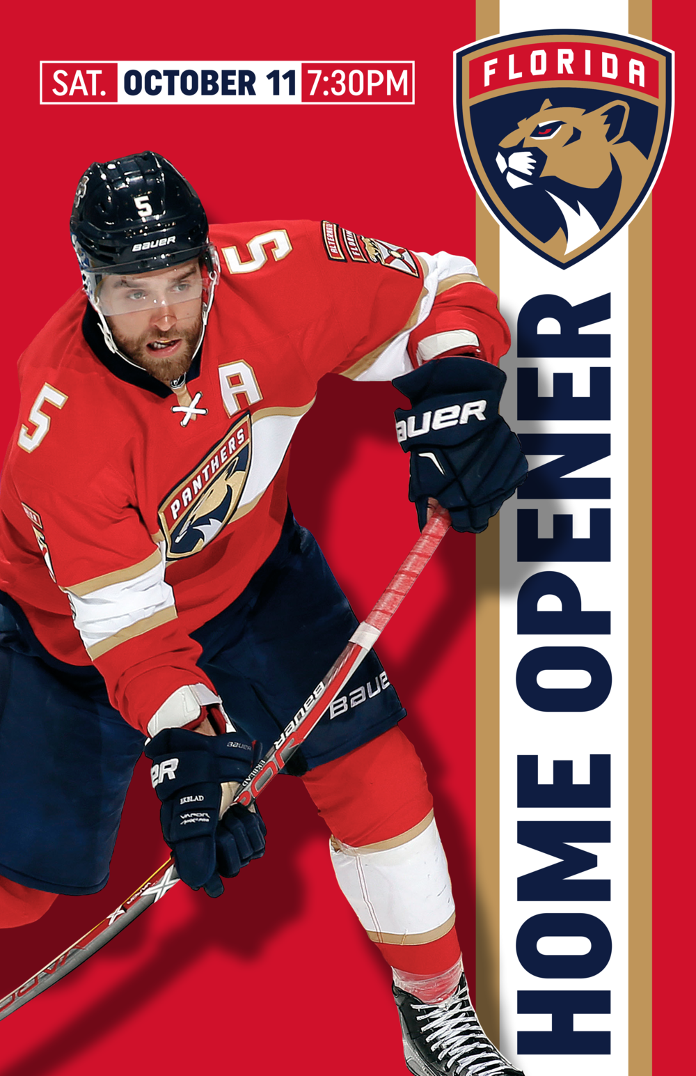 Florida Panthers Home Opener Graphic