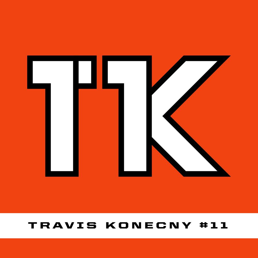Travis Konecny #11 Logo