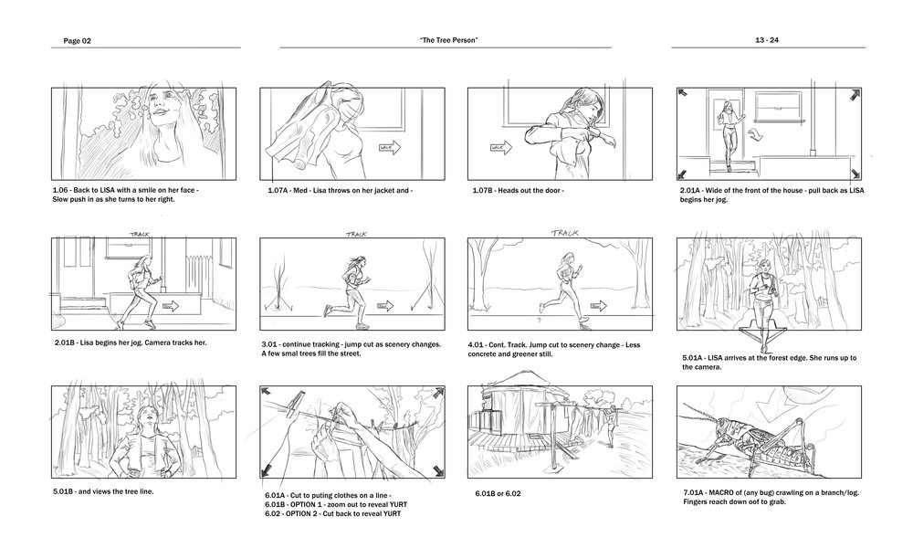 Storyboards Look Books Jonathan B Perez