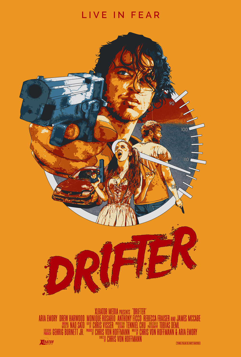 Drifter Domestic One Sheet - Film and TV - Jonathan B Perez - cREAtive Castle Studios.jpg