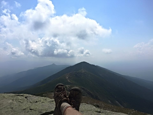 Kickin up the Keen's on Franconia Ridge