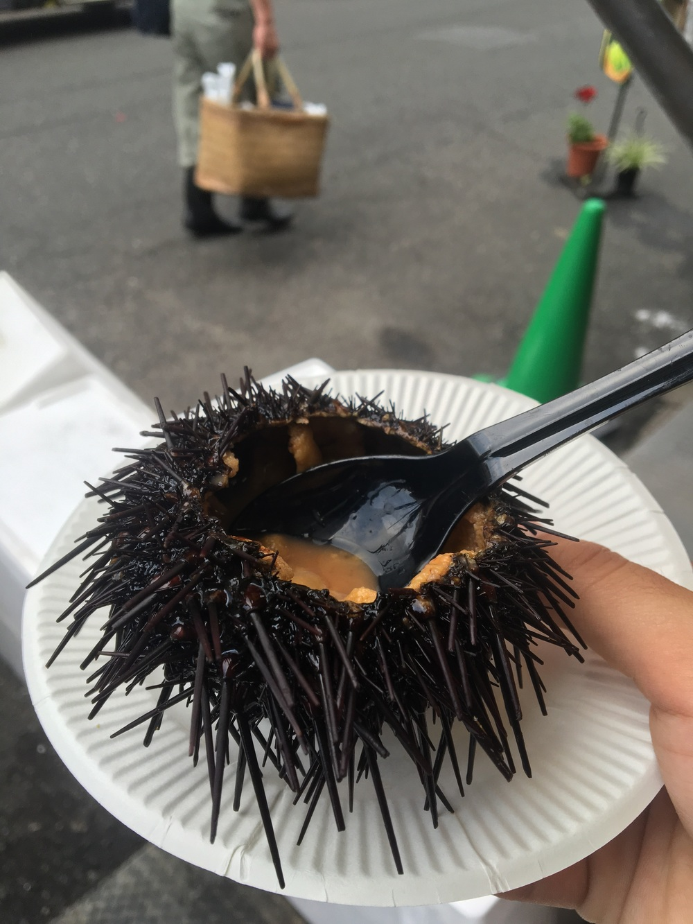 Street sea urchin. Yum.