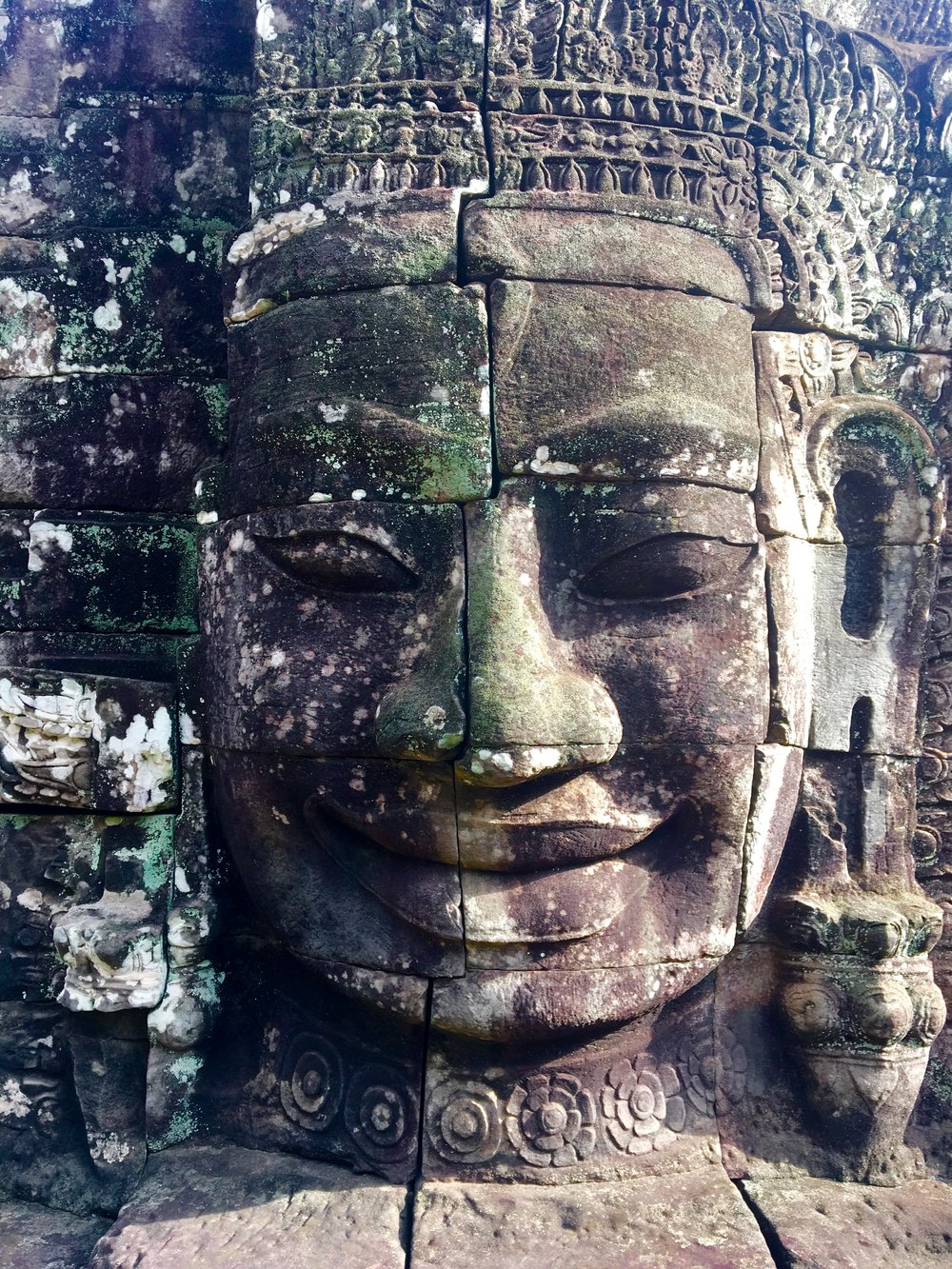 Welcome to Cambodia! - Bayon Temple