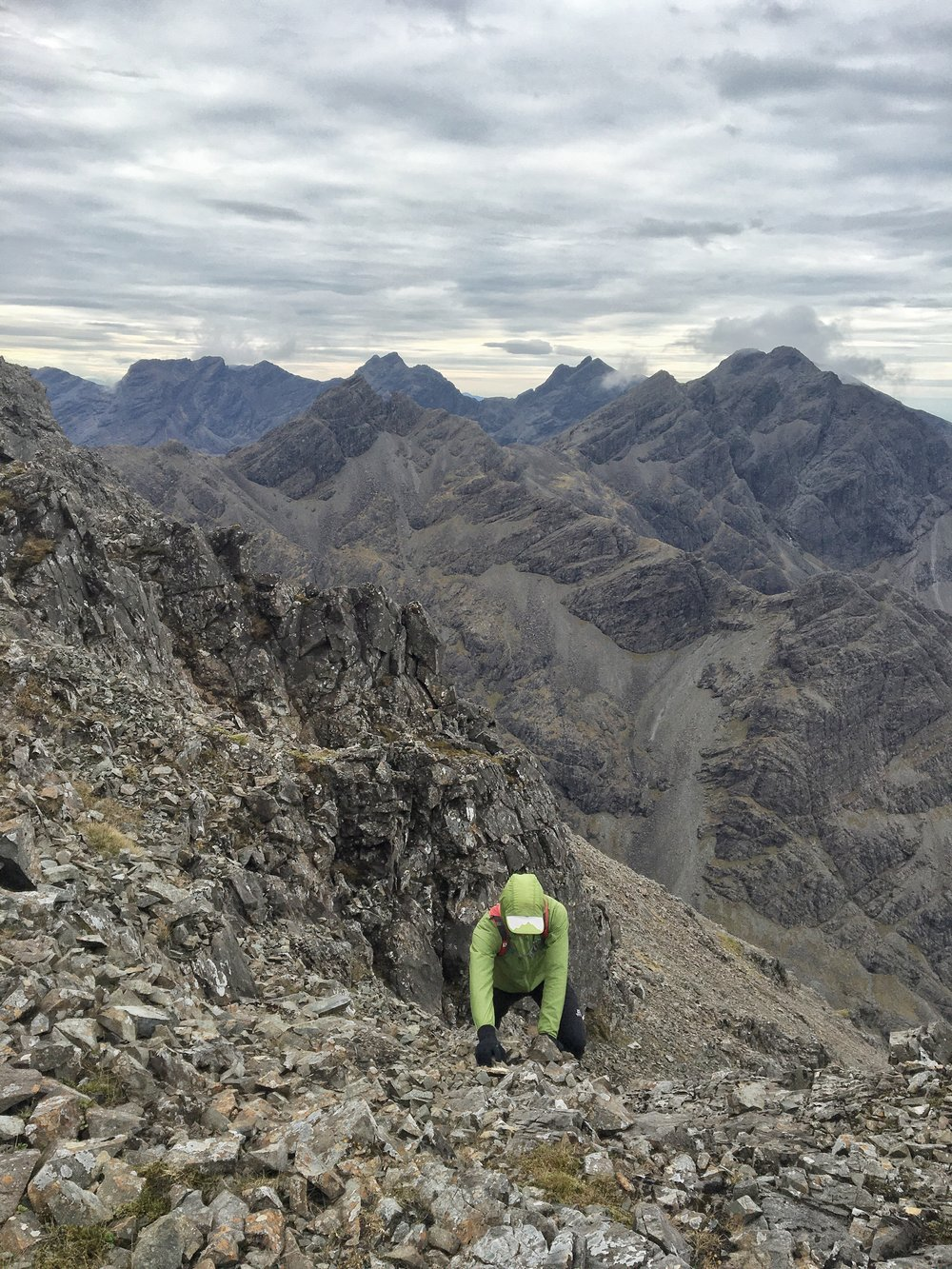 Climbing in the Cuillin Range