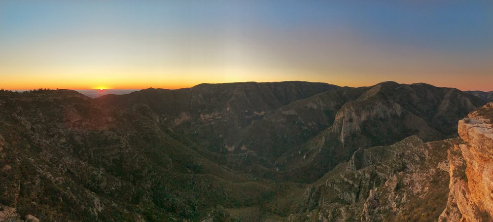 McKittrick Canyon at sunrise