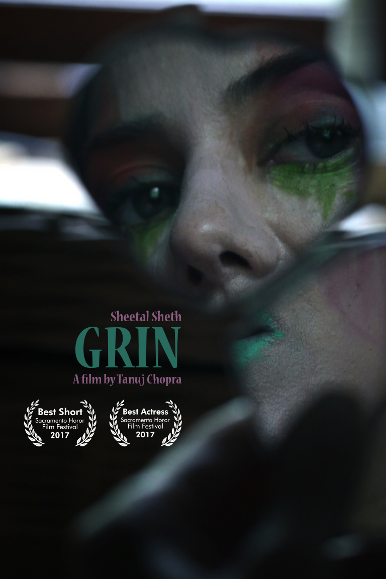 GRIN - Short Film // Coming SoonWinner, Best Short, Sacramento Horror Film FestivalWinner, Best Actress, Sacramento Horror Film Festival