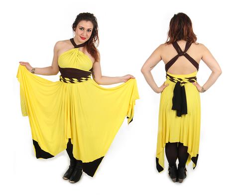 9c3a61ae Pikachu Inspired Convertible Dress — Little Petal