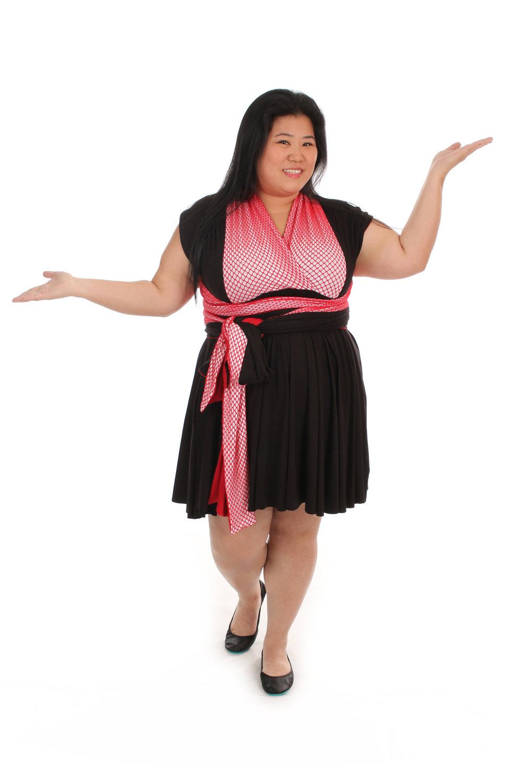 Silk Spider Inspired Convertible Dress