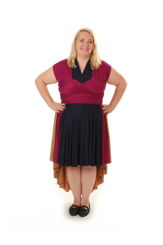 Kinetic Energy Mutant Inspired Convertible Dress