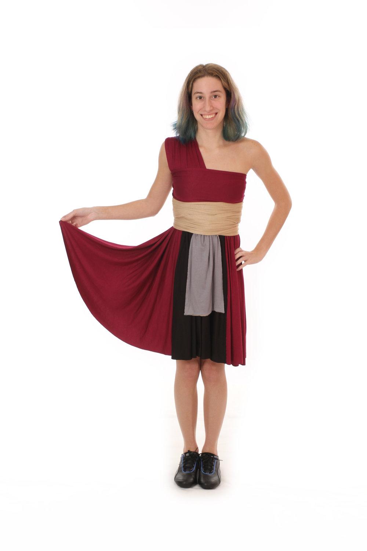 Heavy Blade Wielder Inspired Convertible Dress