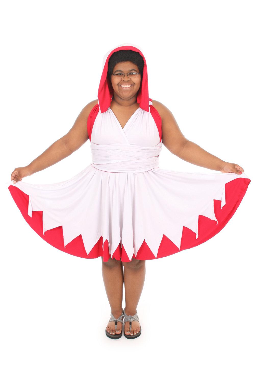 White Magic Healer Inspired Convertible Dress