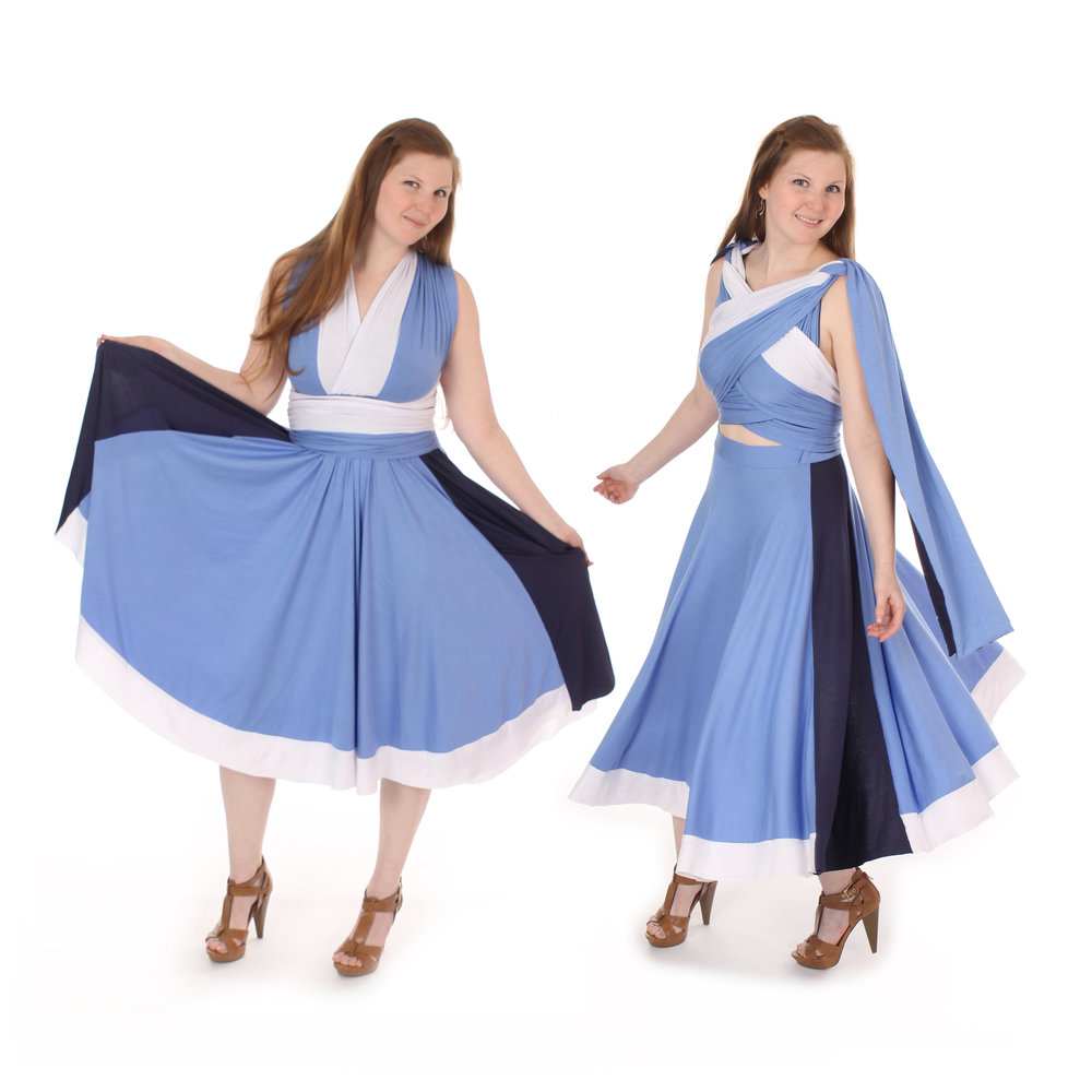 Water Manipulator Inspired Convertible Dress
