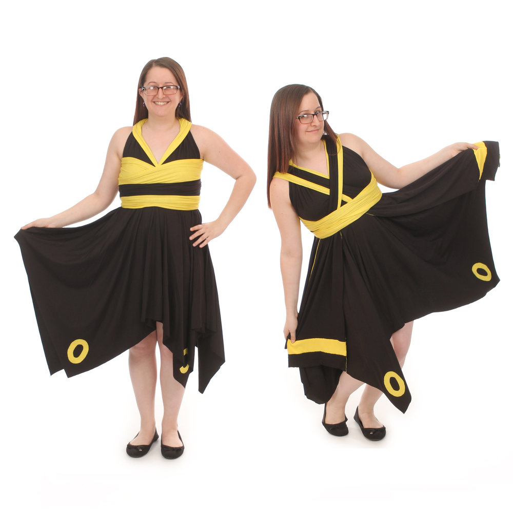 Umbreon Inspired Convertible Dress