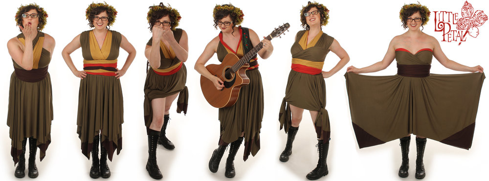 Autumn Inspired Convertible Dress