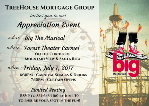 Big the musical by invitation only treehouse mortgage stopboris Gallery