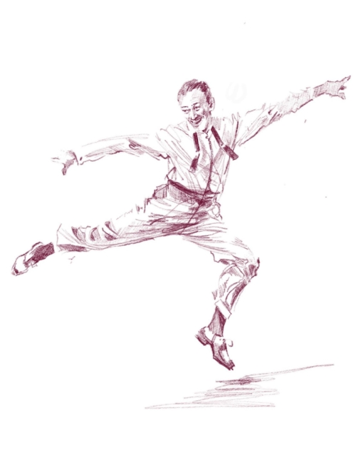 Daily doodle -- fred astaire