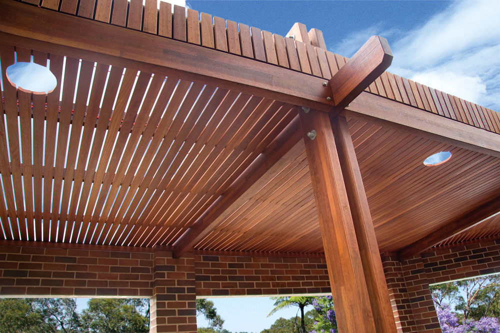 Merbau Timber Posts And Beams Perth Wa Austim