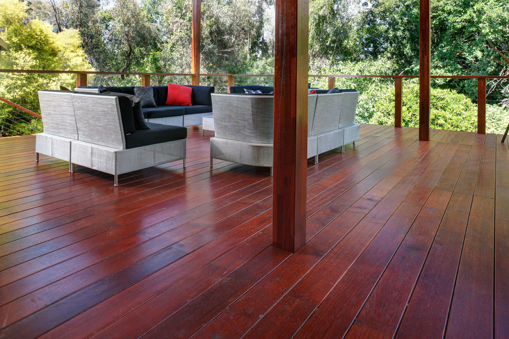 Merbau timber posts and beams perth wa austim for Which timber for decking