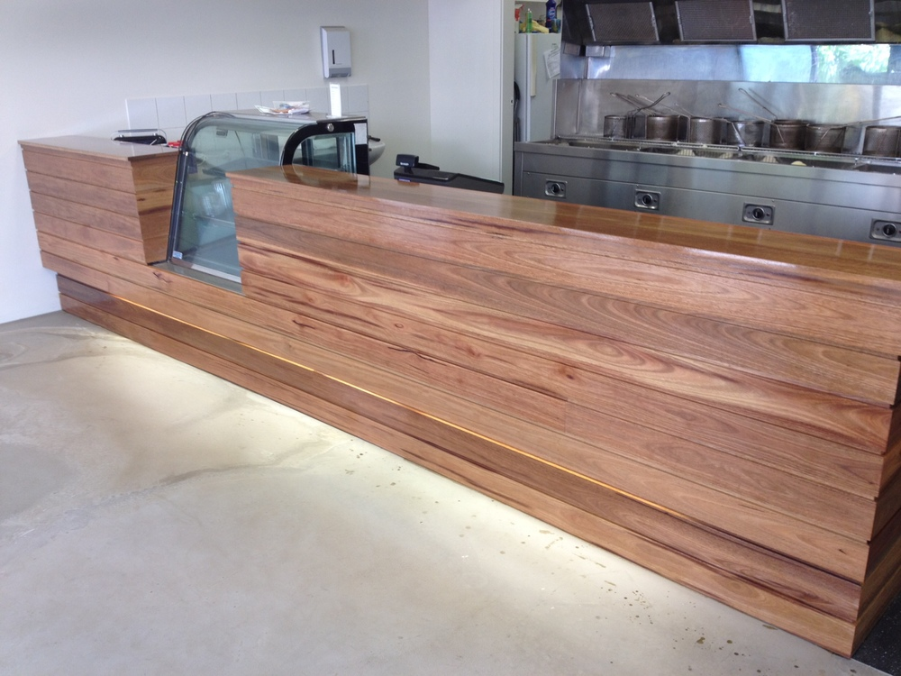 Stocked Item - Recycled Spotted Gum Sierra Cladding