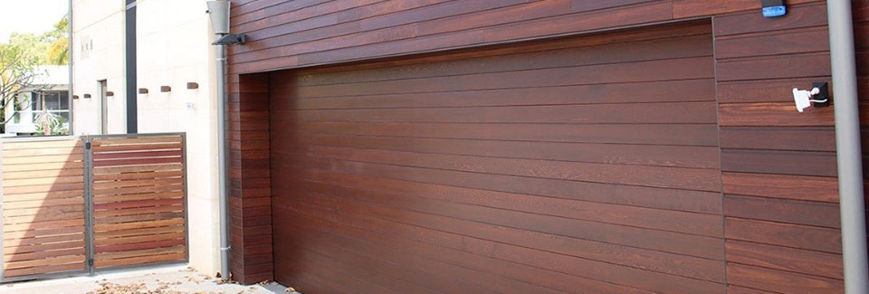 timber cladding garage