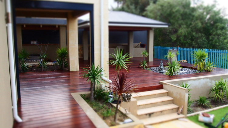 Merbau decking project perth